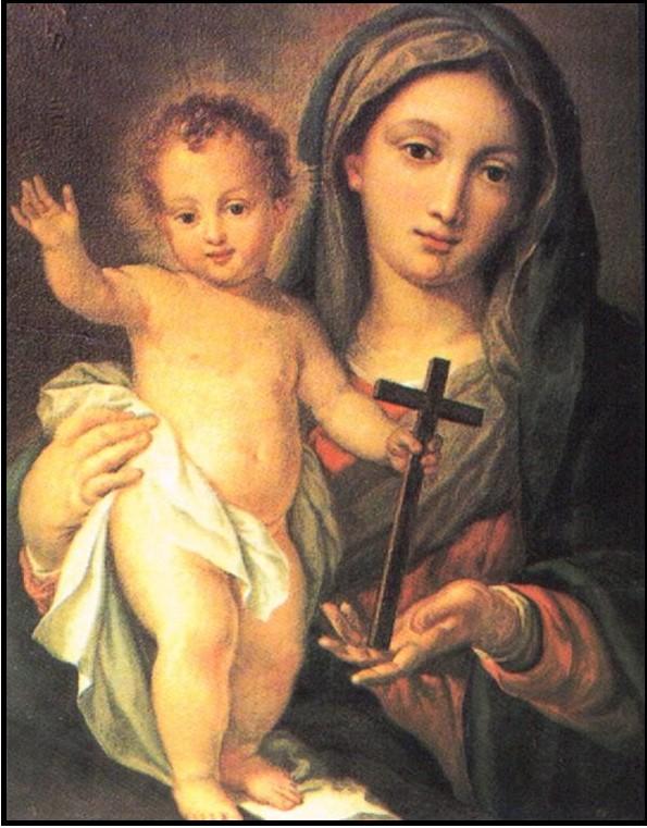 Maryja jako Służebnica Pańska